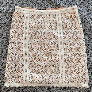 Crochet skirt !